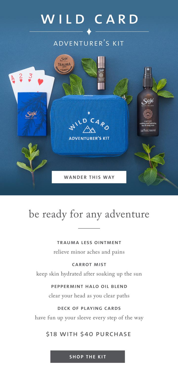 Wild Card Adventure's Kit
